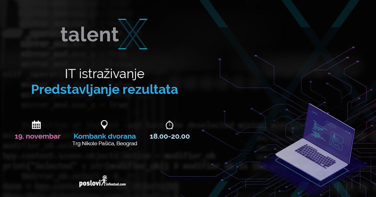 TalentX istraživanje