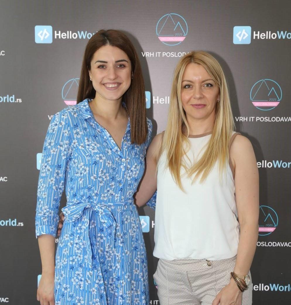 Tamara Prodanović i Sonja Ćetković